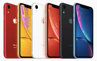 The iPhone XR has a 6.1-inch screen, an AI-assisted single-lens rear camera, and comes in 6 colors