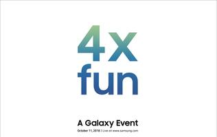 Samsung is launching a Galaxy device on 11 October