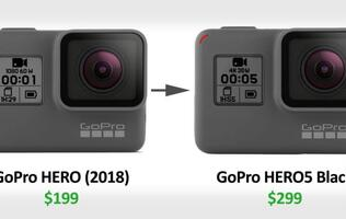 "Is the GoPro Hero (2018) actually a Hero 5 with ""crippled firmware""?"