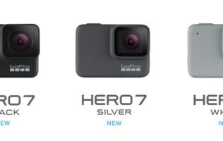 GoPro targets the entry, mid and premium segments with three Hero 7 cameras