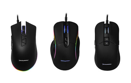 Tecware launches a new line of super affordable gaming mice