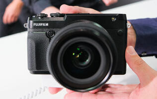 In pictures: Fujifilm's rangefinder-style GFX 50 R