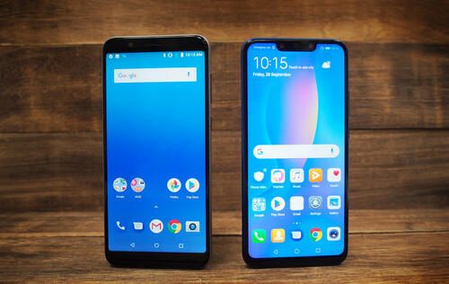 Design: Huawei Nova 3i, Display, Audio & Software : ASUS ZenFone Max