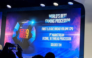 Intel finally has an 8-core/16-thread mainstream chip with the Core i9-9900K