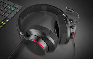 For $99, Creative's new Sound BlasterX H6 gaming headset features 50mm drivers and RGB lighting effects