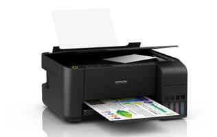 Epson's new EcoTank series ink tank printers are compact and print up to 6,000 black-and-white pages with just one ink bottle
