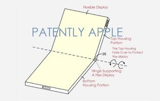 Apple granted a second patent for a folding iPhone design with flexible hinge