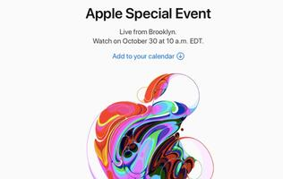 Apple schedules media event on 30 Oct in New York, new iPads and Macs coming?