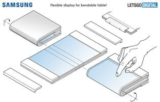 Samsung might also be developing a foldable tablet