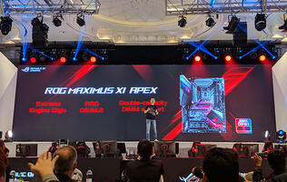 The ASUS ROG Maximus XI Apex was built for hardcore overclockers
