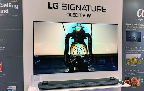 LG Signature W8 OLED TV (65-inch) review