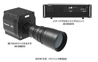Panasonic announces the development of the world's first 8K organic sensor camera system