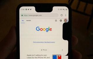 Latest Google Pixel 3 XL glitch adds a horrifying second notch