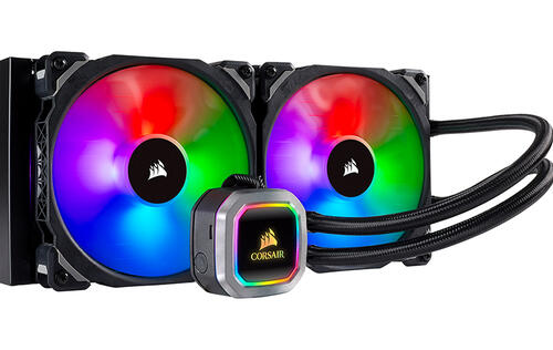 Corsair's new AIO liquid coolers are all about RGB lighting