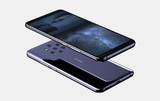 Purported video and renders of the Nokia 9 show off a rear penta-camera setup
