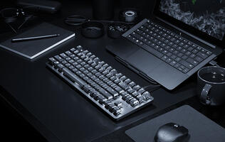 The Razer BlackWidow Lite is a keyboard for working professionals