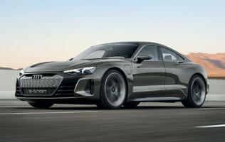 Audi's new e-tron GT looks like the perfect car for Iron Man