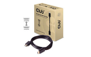 Club 3D's new Ultra High Speed HDMI cables support all the features of HDMI 2.1