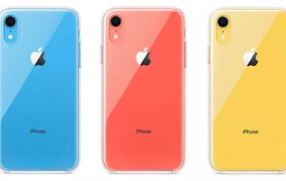 Apple's only official iPhone XR case is a clear TPU case that costs S$59