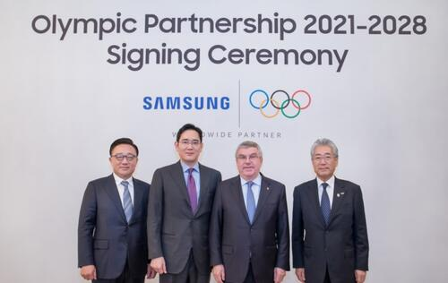 Samsung extends partnership with IOC for another 10 years