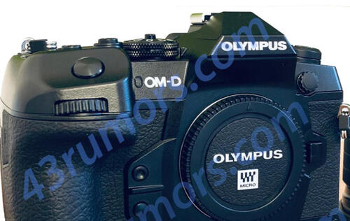 Rumor: Is this the new Olympus E-M1 X?