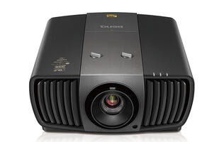 The BenQ W11000H is a 4K UHD DLP projector that supports HDR10 and 3D