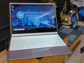 Hands-on with the HP Spectre Folio, a stylish convertible made out of aluminum and leather