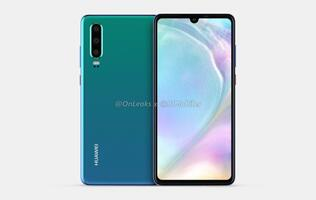 Purported renders and 360-degree video of Huawei P30 phone leaked