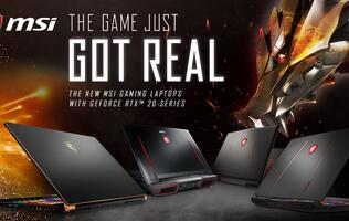 MSI brings GeForce RTX graphics to its gaming notebooks and the GS75 Stealth is leading the charge