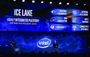 Intel demos 10nm Ice Lake SoC, to come in products by end of the year