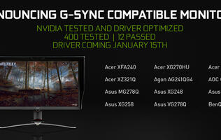 NVIDIA wants to improve gaming experience by introducing the G-Sync Compatible standard