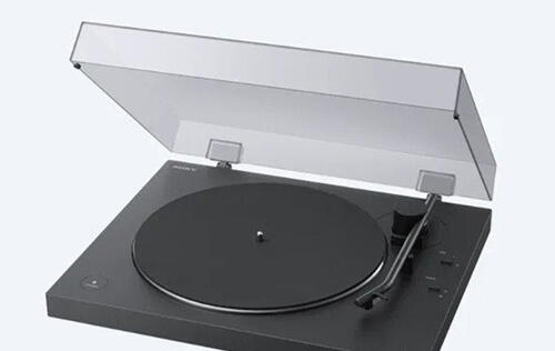 Sony's latest PS-LX310BT turntable lets you listen to your records on wireless headphones