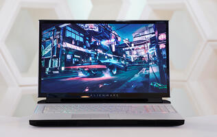 The Alienware Area-51m is a fully upgradeable gaming laptop with an NVIDIA GeForce RTX 2080
