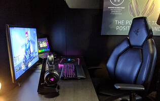 Razer envisions a future where your mouse, wrist rest, and chair vibrate when you shoot in game