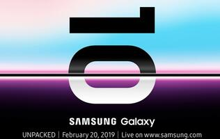 Samsung confirms date of Galaxy Unpacked launch event for the Galaxy S10