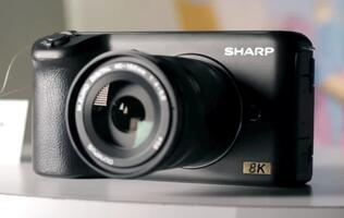 Sharp shows off new prototype 8K MFT camera at CES 2019