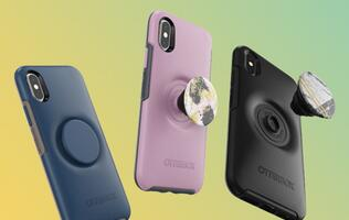 OtterBox releases new iPhone case with built-in/customizable PopSocket