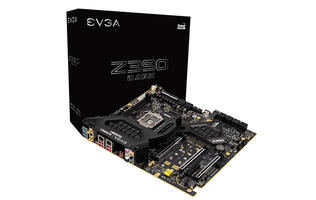 This EVGA Z390 Dark motherboard puts its RAM slots parallel with the top of your chassis