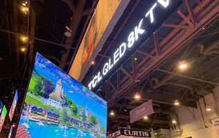 China-based TCL also has a 75-inch 8K QLED TV