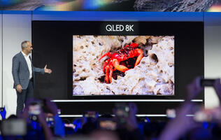 CES 2019: It's raining 8K and 4K TVs