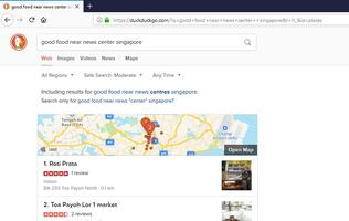 Internet privacy search engine DuckDuckGo now offers Apple Maps-powered searches