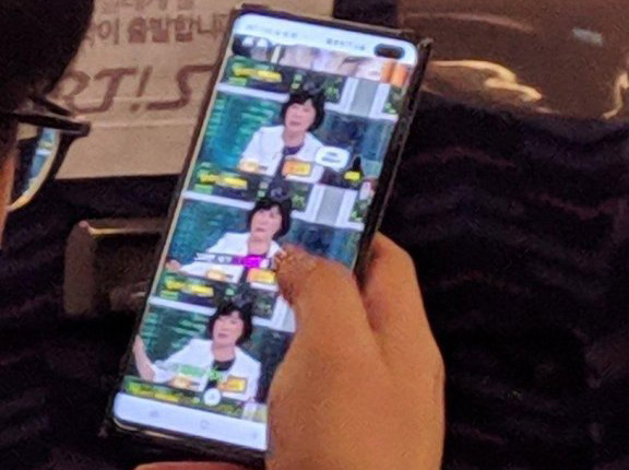 Samsung Galaxy S10+ spotted in the wild