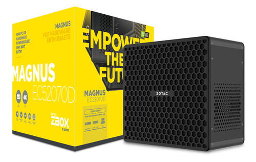 Check out Zotac's latest SFF gaming desktop that features the NVIDIA GeForce RTX 2070 GPU
