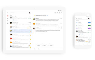 Google has redesigned its Gmail mobile app to look cleaner and more modern