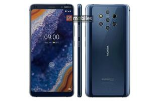 Press image of Nokia 9 PureView confirms an in-display fingerprint sensor