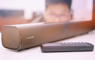 Unboxed: Creative Stage compact under-monitor soundbar