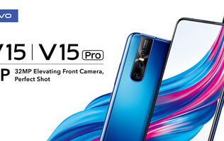 Vivo's new V15Pro sports an elevating front camera and in-display fingerprint scanning