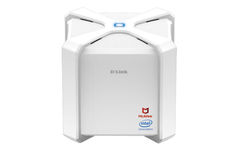 D-Link's new DIR-2680 router features an Intel chipset that's focused on security