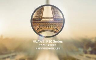 Huawei puts up teaser microsite for the P30... so you can register your interest