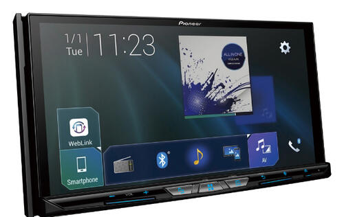 Pioneer's latest in-car receivers come with new user interface and support for Apple CarPlay and Android Auto